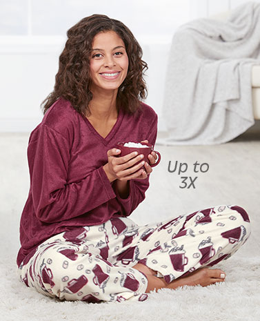 Cozy Fleece Pajama Set