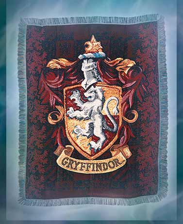 Harry Potter Gryffindor™ Tapestry Throw