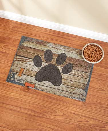 Large Wood-Look Multipurpose Pet Mats