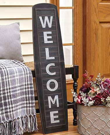 Country Shutter Welcome Signs