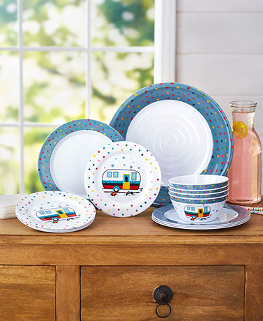Camping Fun Melamine Collection