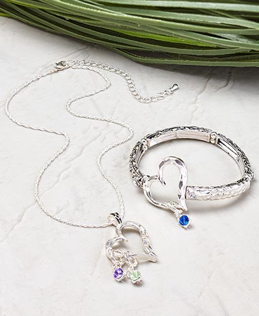 Everlasting Love Birthstone Jewelry Collection