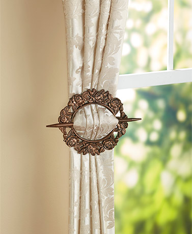Sets of 2 Curtain Tie-Backs