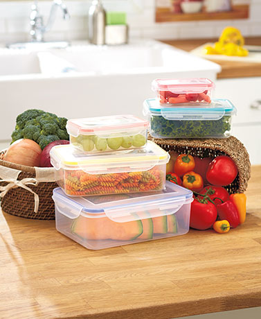 10-Pc. Locking Lid Storage Set