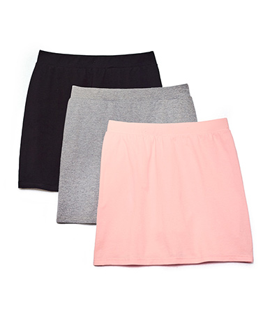 Women's Set of 3 Scooter Skirts