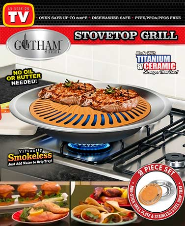 Gotham Steel Stovetop Grill