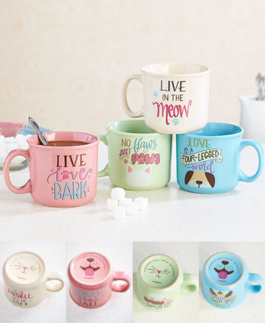 16-Oz. Pawsitive® Mugs