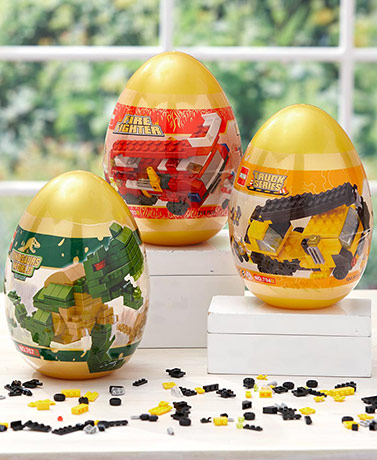 Building Block Eggs