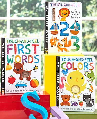 My Little World Touch and Feel Board Books