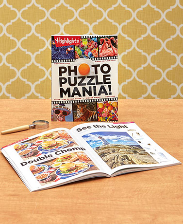 Highlights™ Photo Puzzle Mania Book