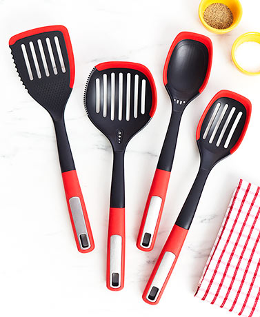 Silicone Edge Multifunction Utensils