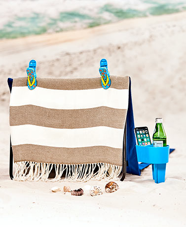 Towel Clips and Beach Caddy Sets