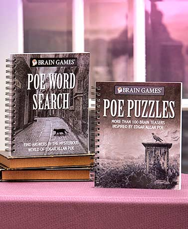 Brain Games® Poe Puzzles or Word Search