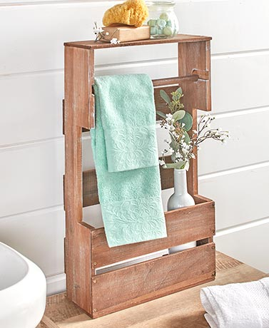 Slim Bathroom Organizers
