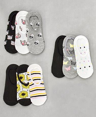 Women's 3-Pk. No-Show Socks
