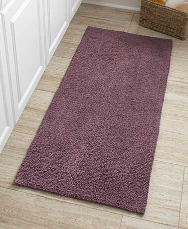 Reversible Cotton Bath Rugs or Runners