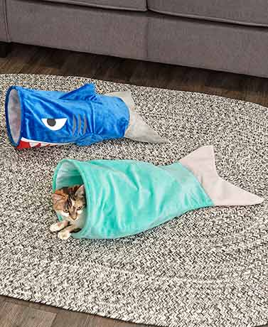 Under the Sea Kitty Crinkle Sacks