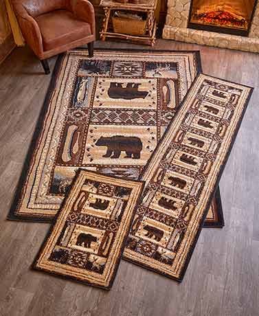 Lodge Rug Collection