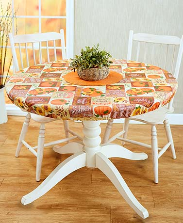 Custom-Fit Seasonal Table Covers