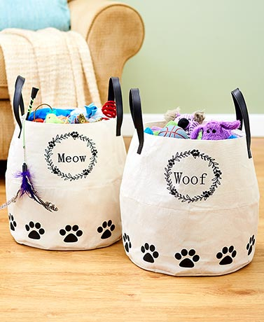 Pet Farmhouse Storage Bins