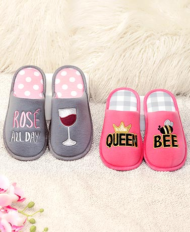 Slippers with Attitude
