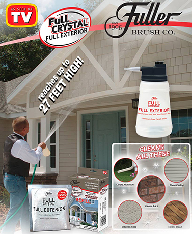 Fuller® Crystal Exterior Cleaner or Refill