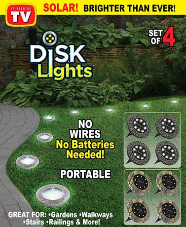 Bell+Howell® Stone Disk Lights