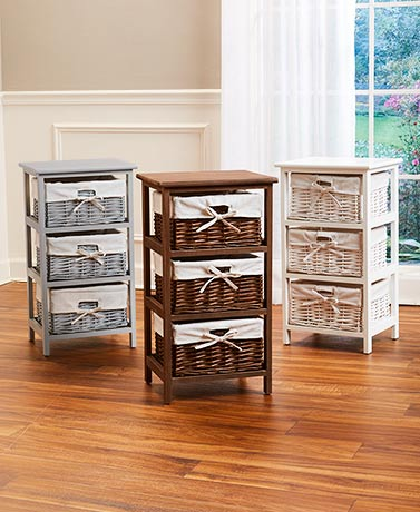 Storage Tower with 3-Pc. Basket Set