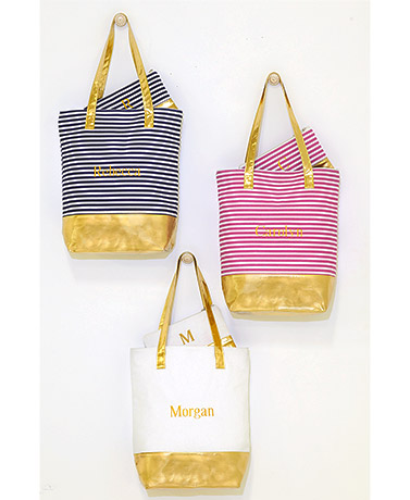 Personalized 2-Pc. Tote and Clutch Sets