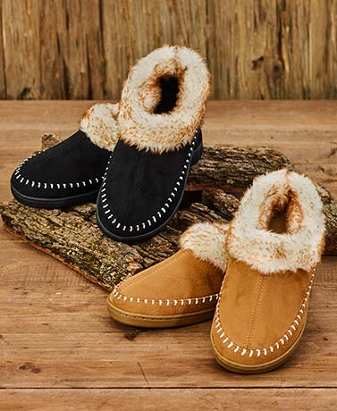 Men's Genuine Suede Moccasins
