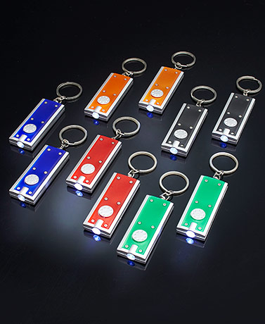 Set of 10 Keychain Flashlights