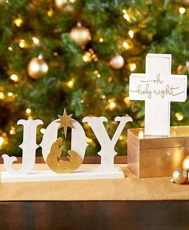 Nativity Tabletop Accents