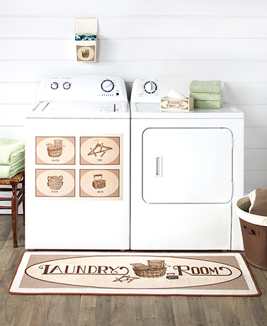 Vintage Laundry Room Collection