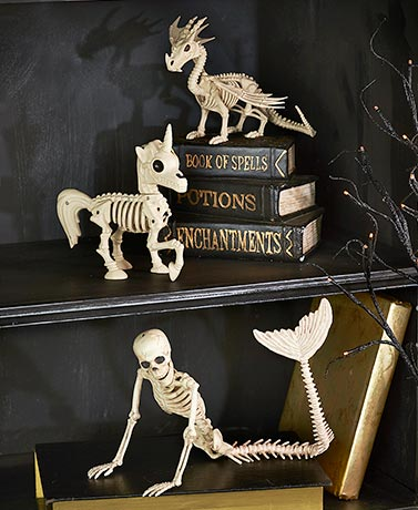 Skeleton Animal Figurines