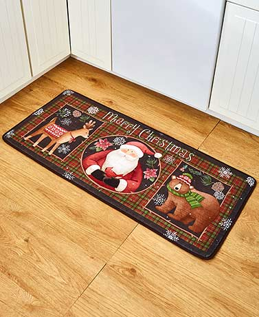 Country Christmas Kitchen Collection - Rug