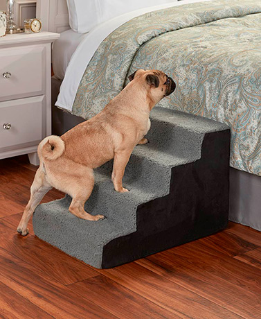 Sherpa Pet Steps - Black