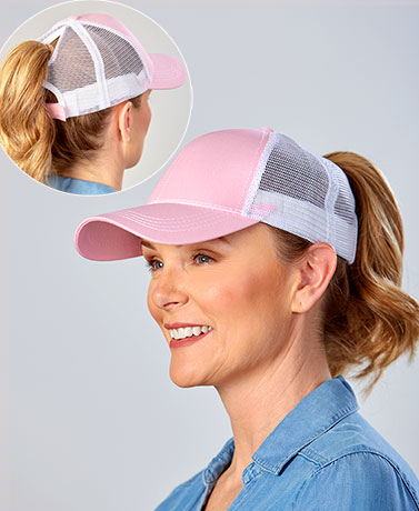 Ponytail Baseball Hats