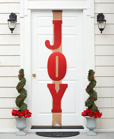 Over-the-Door Joy Ribbons