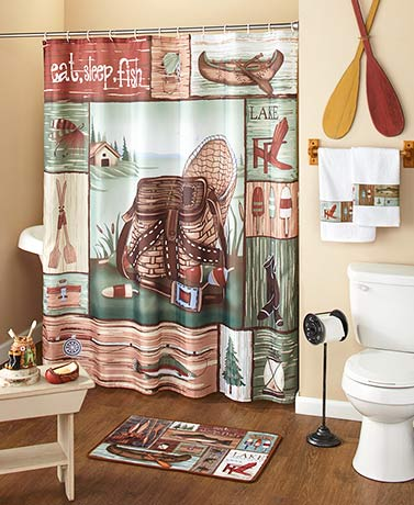 Gone Fishing Bathroom Collection