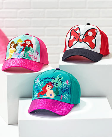 Girls' Disney Baseball Hats