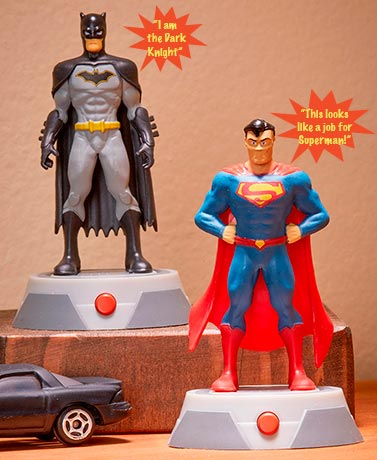 DC Comics® Statues with Sound