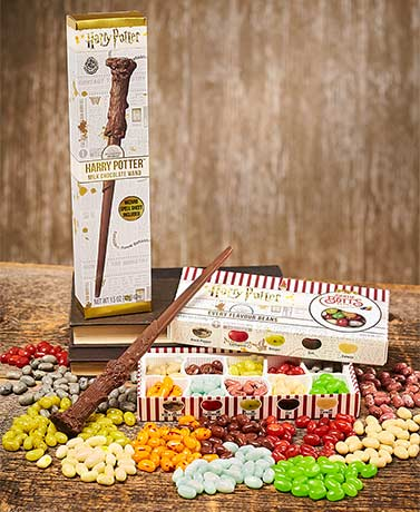 Harry Potter™ Jelly Belly Bertie Bott's Beans or Chocolate Wand