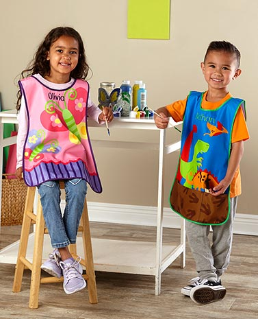 Personalized Kids' Craft Aprons
