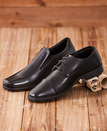 Men's Slip-On or Lace-Up Dress Shoes