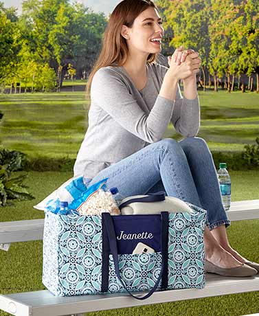 Personalized Collapsible Utility Totes