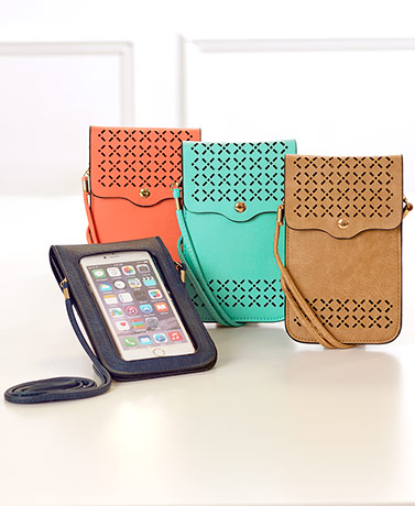 Touch Screen Cell Phone Crossbody Bags