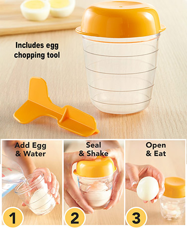 Hard-Boiled Easy Egg Peeler™