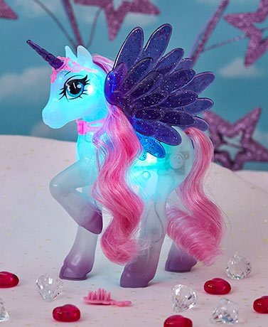 Magical Light and Sound Unicorn