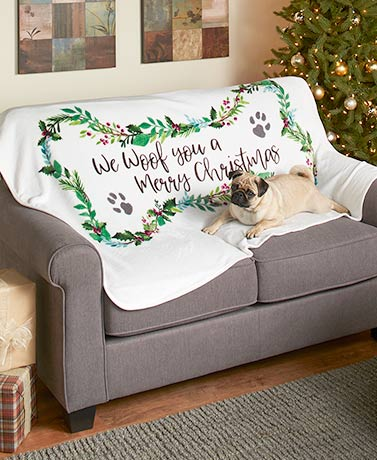 Holiday Pet Throws