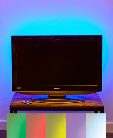 Color-Changing Light Strip with Remote